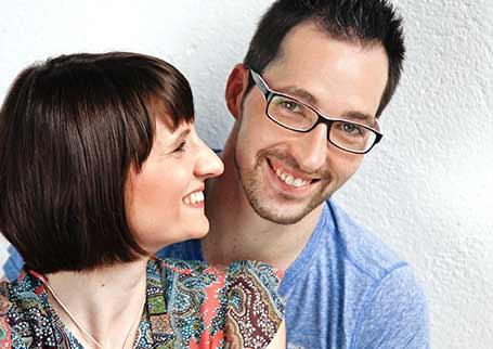 Portraitbild ElitePartner-Erfolgsgeschichte Christina und Erik